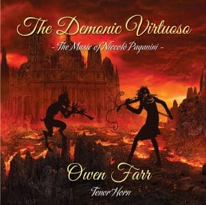 Owen Farr - The Demonic Virtuoso - CD cover